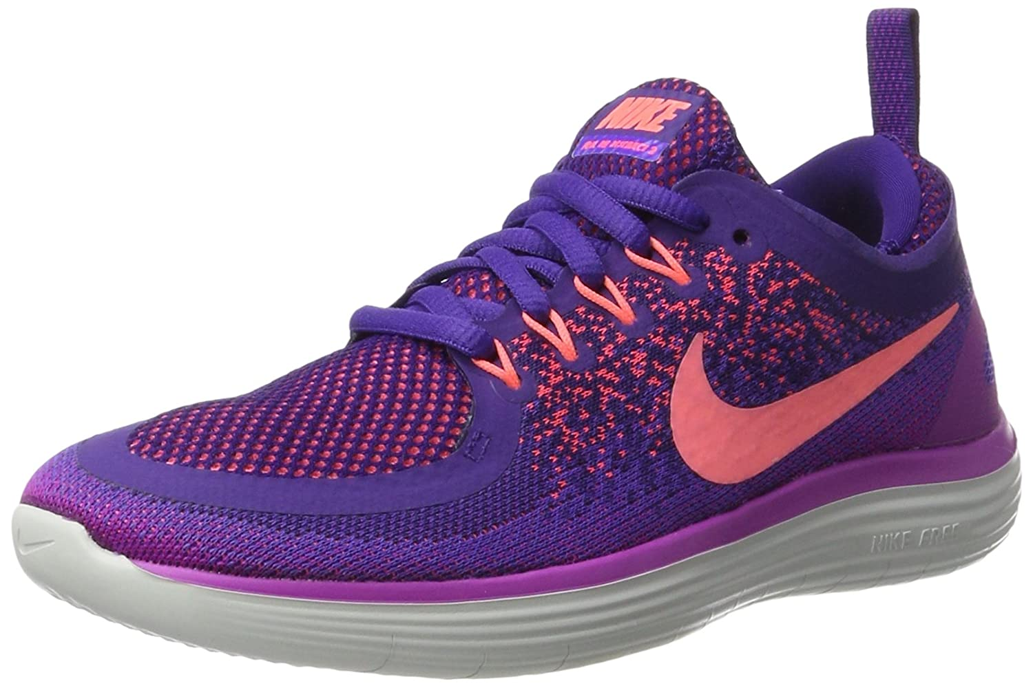 Nike Women's Free Rn Distance 2 Running Shoe B06ZYZKC2D 6 B(M) US|Hyper Grape/Lava Glow-court Purple