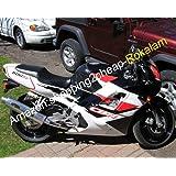 CBR600 Blanco Negro Carenado para CBR600F2 1991 1992 1993 1994 CBR 600F2 CBR600 CBR 600 F2