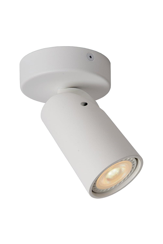 Lucide XYRUS - Deckenstrahler - Ø 9 cm - LED Dim. - GU10 - 1x4,5W 3000K - Weiß