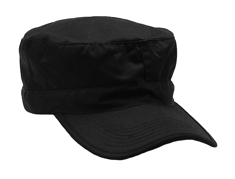 New Mens US Army Style BDU Field Combat RIPSTOP Baseball Cap BLACK