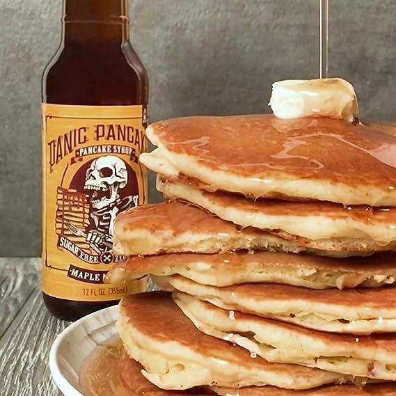 Sinister Labs Panic Pancakes jarabe para tortitas sin ...