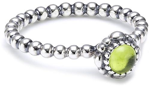 b3d40c3f7 Authentic Pandora Silver Peridot August Birthday Blooms Ring 50 (5)  190854PE: Amazon.ca: Jewelry