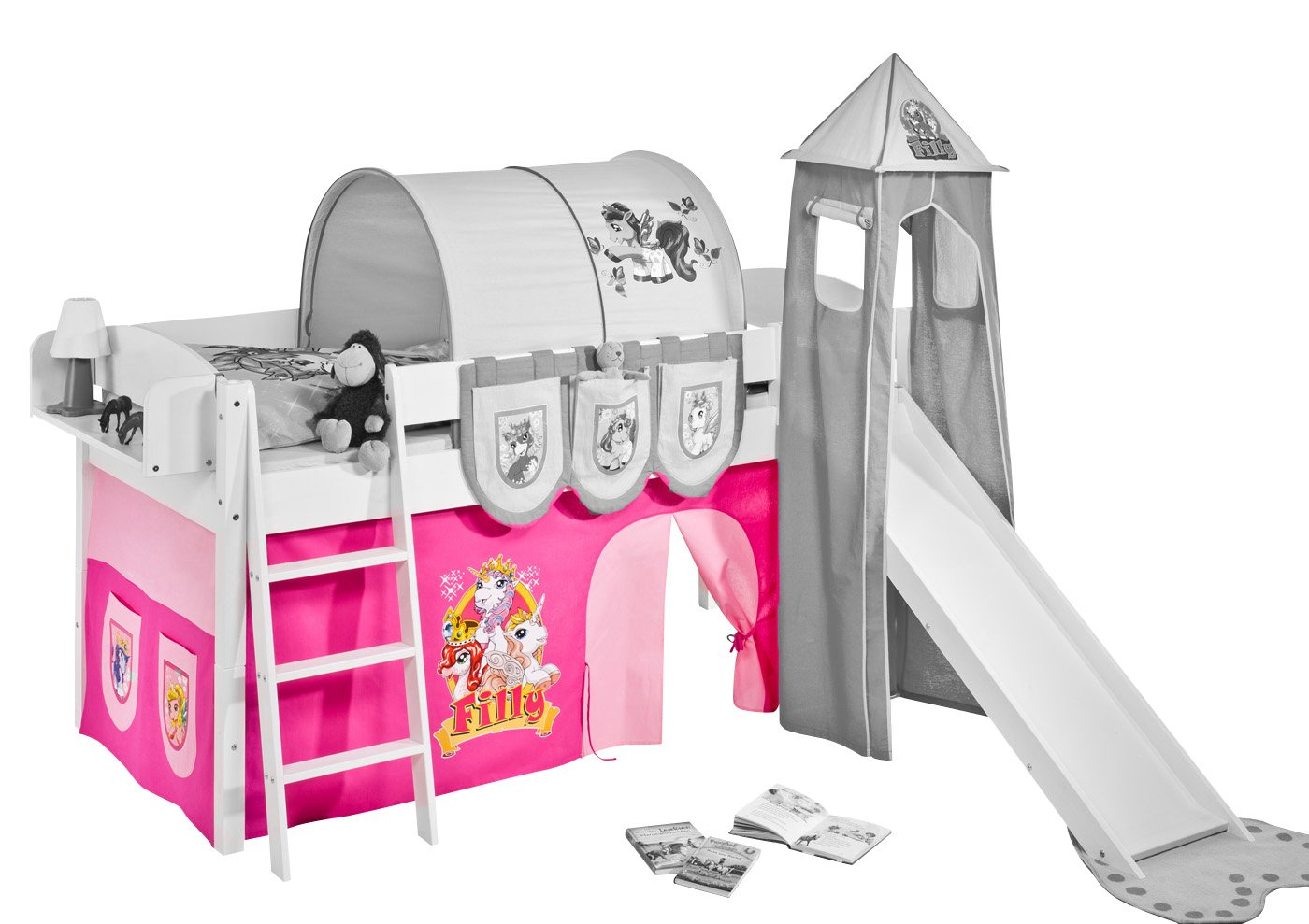 Etagenbett Lipo : Vorhang filly für hochbett spielbett etagenbett und