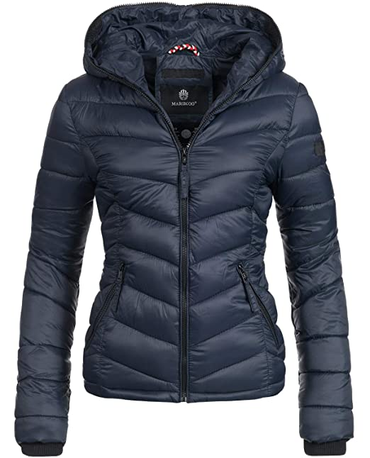 the latest b95af b71b0 Marikoo Damen Übergangs-Jacke Steppjacke Kuala 16 Farben XS-XXL