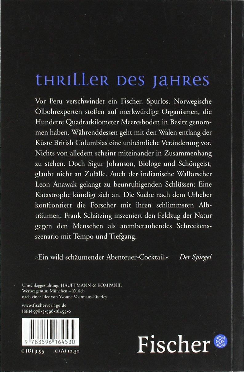 Der Schwarm (German Edition): Frank Schatzing: 9783596164530 ...