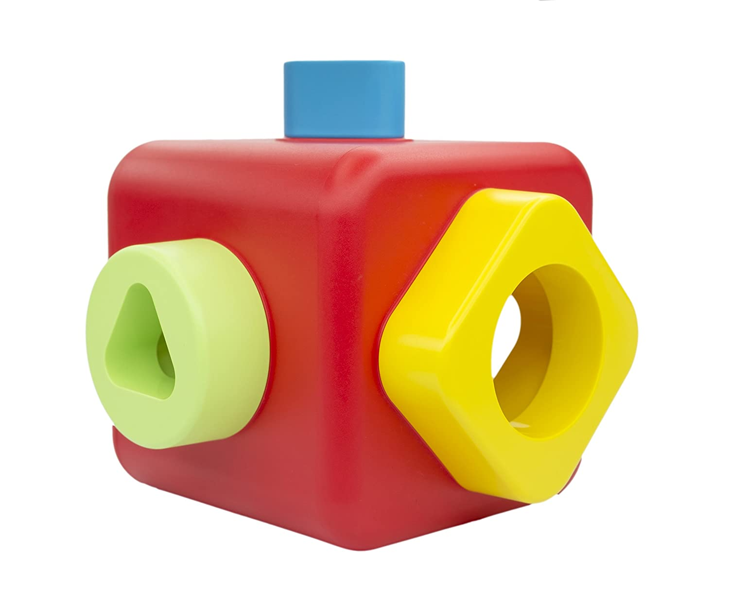 Bioserie Toys Shape Sorting and Stacking Cube 89103