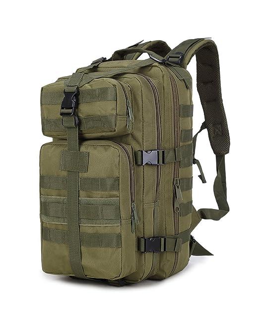 50d20e34cef12 Gemgeny 35L Tactical Military Assault Pack Rucksack Bug Out Bag Armee MOLLE  Klein Rucksack für Outdoor
