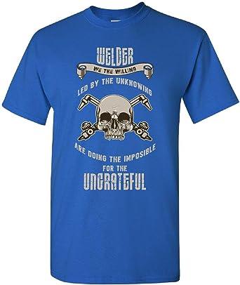 Welder We The Willing - Camisa de soldador para adultos, 5 x L, color azul: Amazon.es: Libros