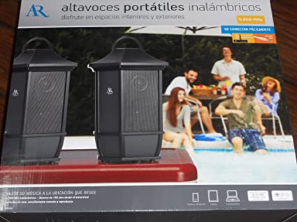 Amazoncom Acoustic Research Portable Wireless Speakers Pair - Abt speakers