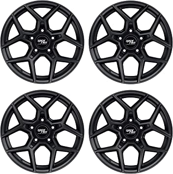 Amazon Com Rocktrix Rt105 17 Inch Wheels Compatible With Jeep Wrangler Jk Jl 5x5 Bolt Pattern 17x9 12mm Offset 5 5in Backspace 71 5mm Bore Matte Black Also Fits Gladiator Commander Grand Cherokee 4pc