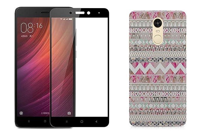 hot sale online 2e0e7 8bcb9 [COMBO] CASE U™ Aztec Girl Designer Premium PolyCarbonate Case Back Cover  for Redmi Note 4 + Free Full Coverage Edge-to-Edge Tempered Glass