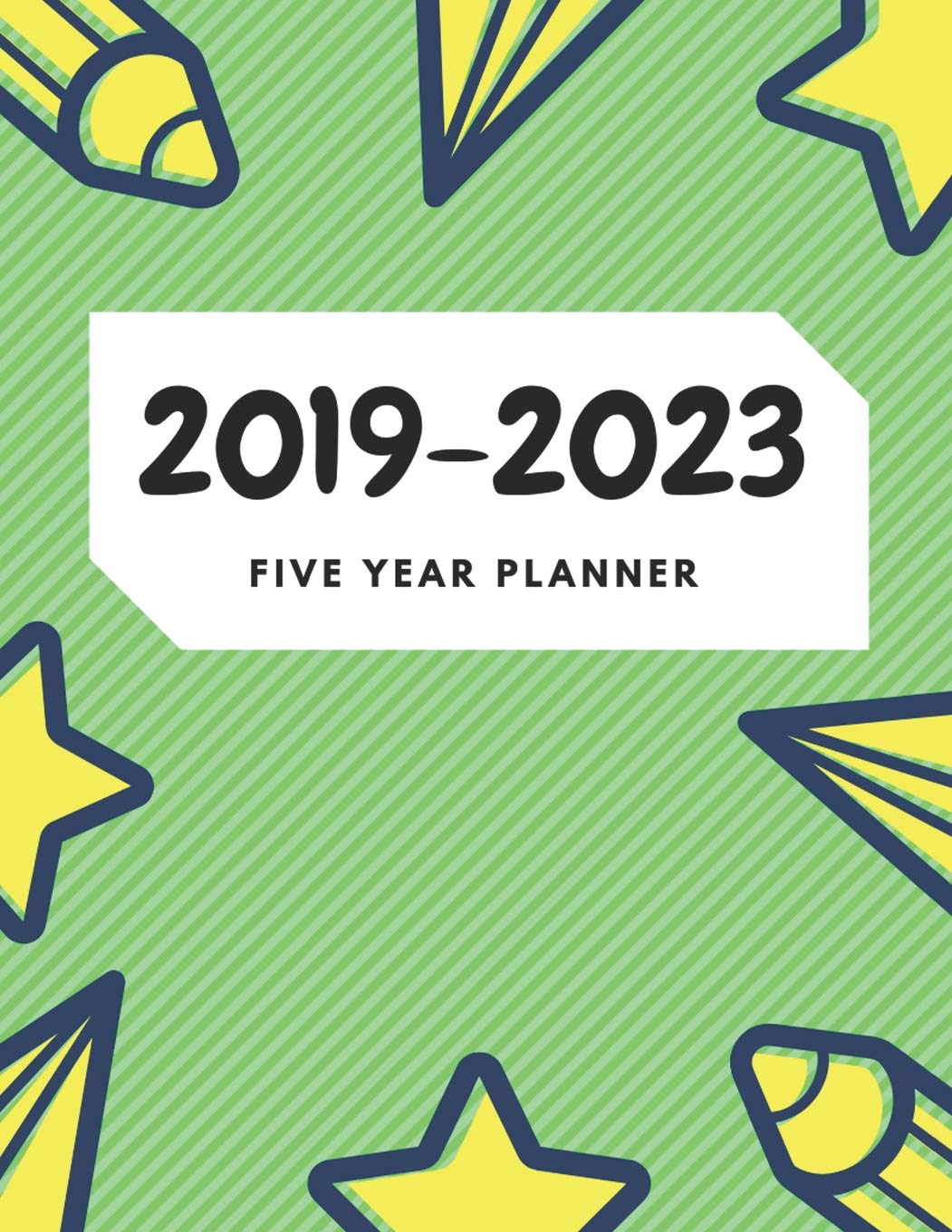 2019-2023 Five Year Planner: 60 Months Calendar with US ...