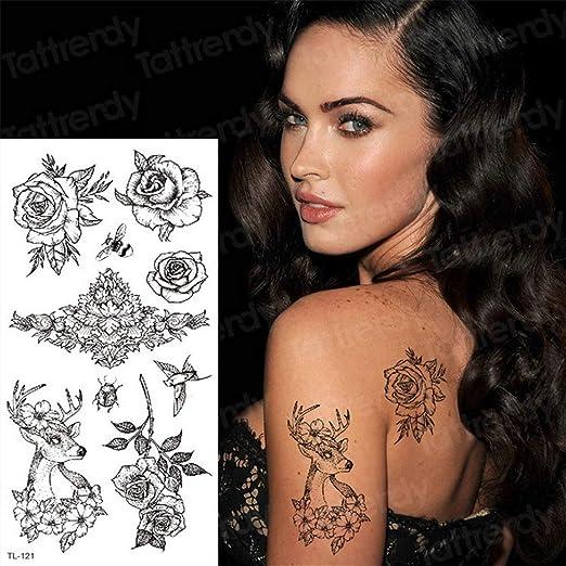 3pcs Tatuajes y Arte Corporal laminadores Mehndi celebridades ...