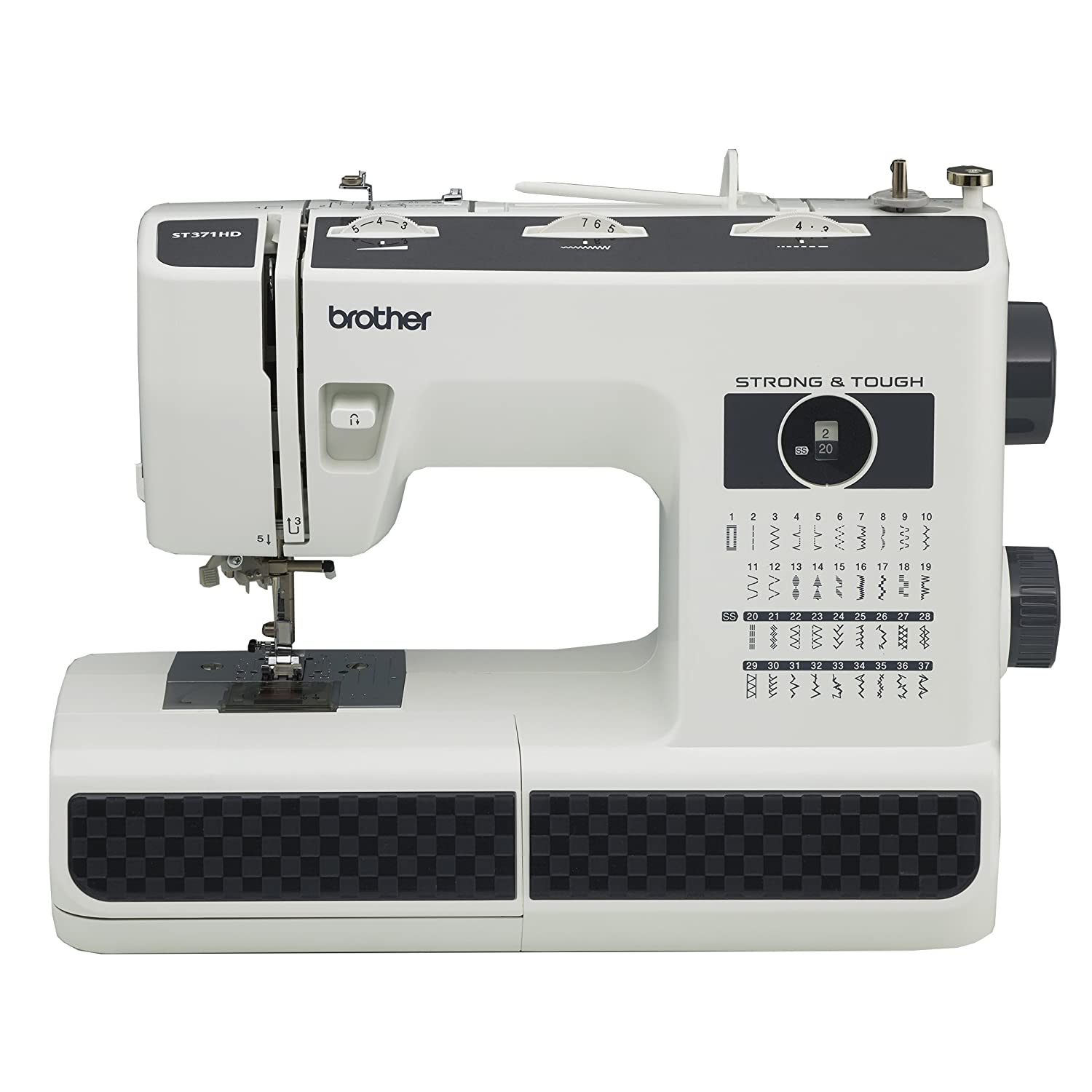Maquina De Coser Brother St371hd Industrial Trabajo Pesado