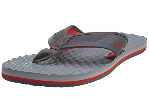 The North Face Base Camp Plus Flip-Flop Men's Dark Shadow Grey/TNF Red