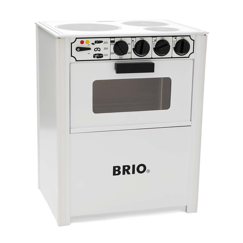 BRIO 31357 - Cocina Blanca, Juguete de Madera: Amazon.es: Juguetes ...