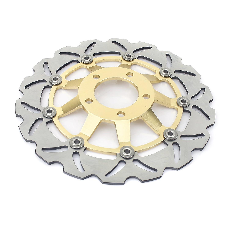 Tarazon Bremsscheiben vorne hinten 3 pcs passende GSX 600 750 F 98-03 SV 650 S 99-02 RF 600 R 93-98 Gold Set