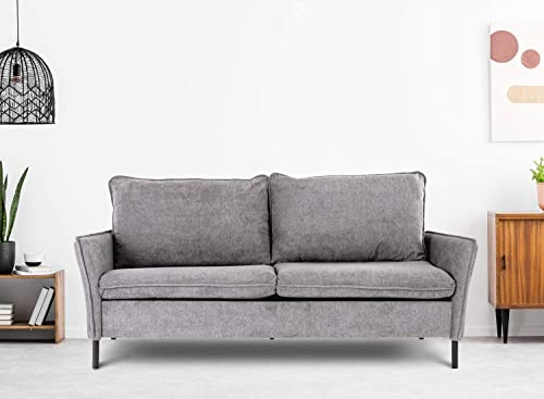 Sofa,Loveseat Couch Small Spaces Upholstered Modern Tufted Fabric - the best living room sofa for the money
