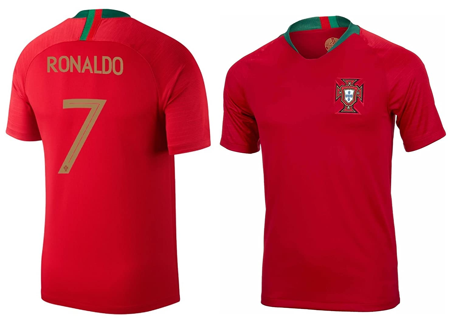 the latest 6b4e6 354e7 PFA Portugal Cristiano Ronaldo #7 Soccer Jersey Adult Men's Sizes Home  Football World Cup Premium Gift