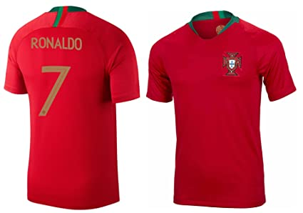 the latest 81111 ea47a PFA Portugal Cristiano Ronaldo #7 Soccer Jersey Adult Men's Sizes Home  Football World Cup Premium Gift