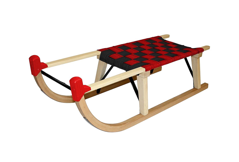 Sweety Toys 4058 H/örnerschlitten Holzschlitten innsbruck Stripe 100 cm