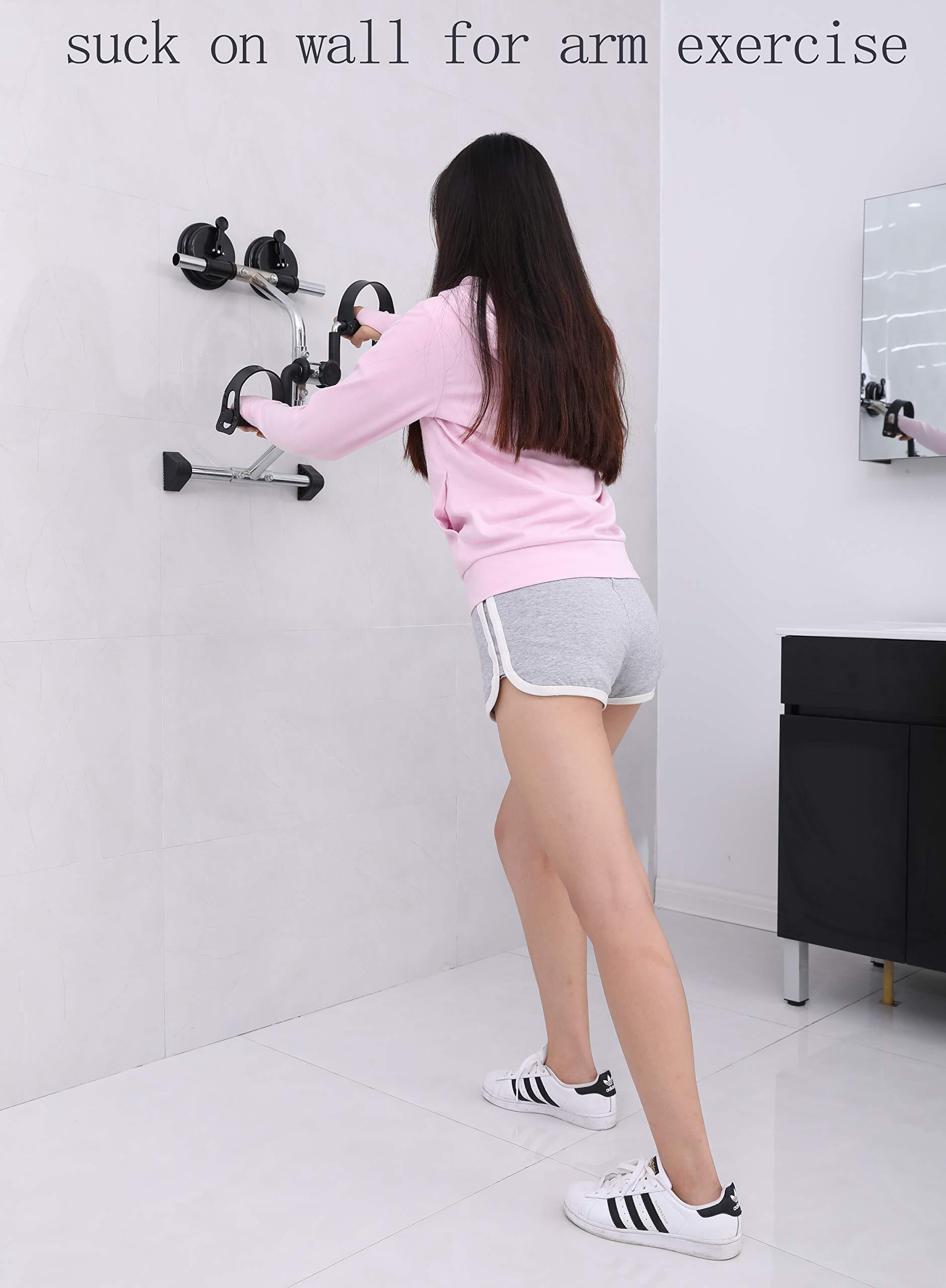 MOMODA Anti-Slip Foot for Mini Exercise Bike Stopper and Holder Anti-Slip Sucker for Pedal Exerciser or Leg Exerciser 2 pcs (26MM) by MOMODA (Image #7)