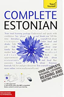 Complete Estonian With Two Audio CDs A Teach Yourself Guide Language
