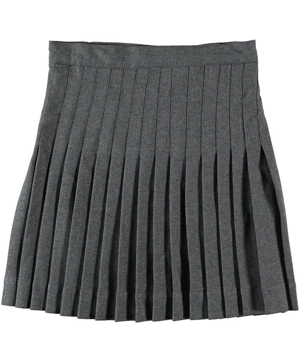 Cookie's Brand Big Girls' Kilt Skirt with Tabs - gray, 12