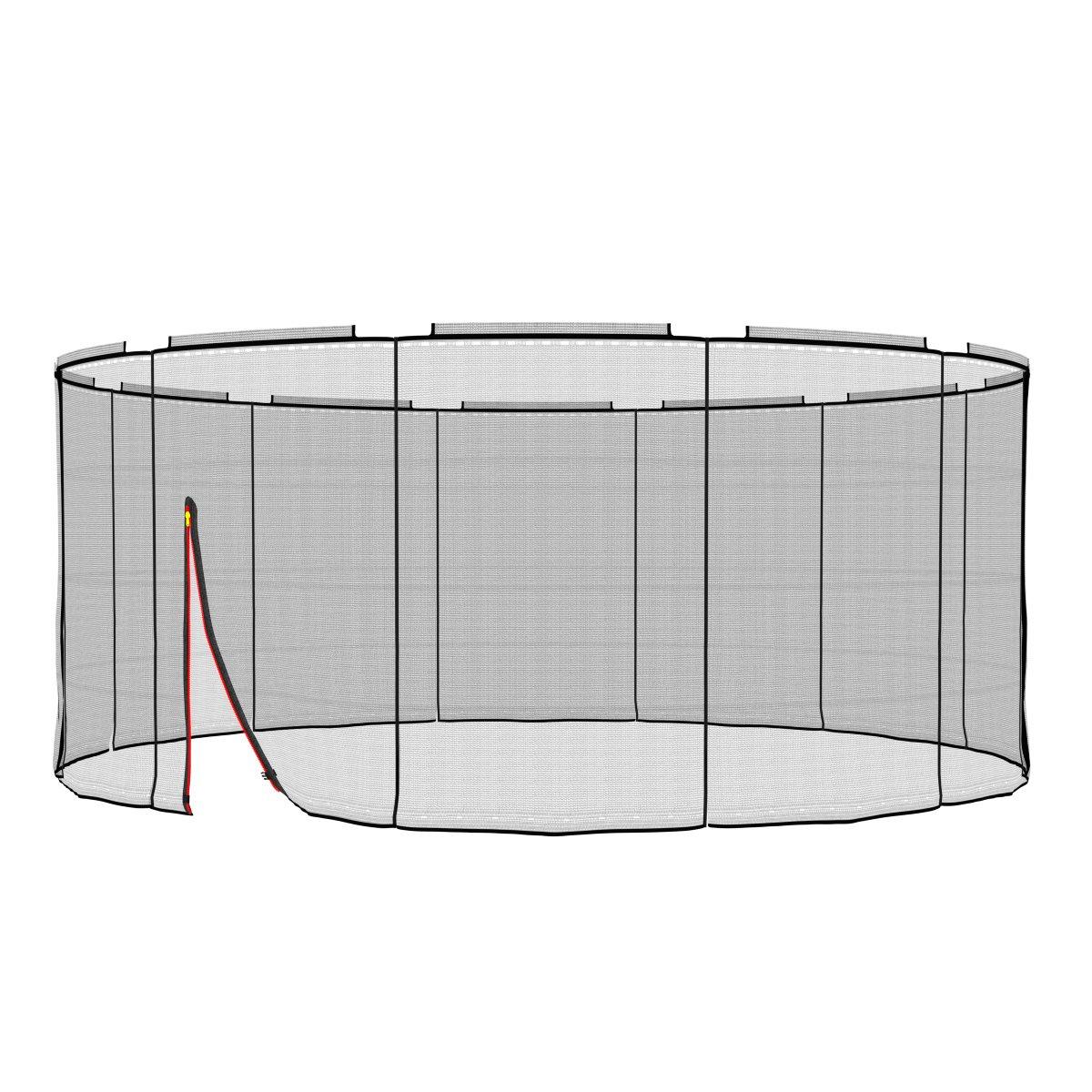 Ampel 24 Deluxe Ersatz Sicherheitsnetz für Trampolin Ø 430 cm, Ersatznetz für 12 Stangen, Netz innenliegend, reißfest, UV-Besteändig