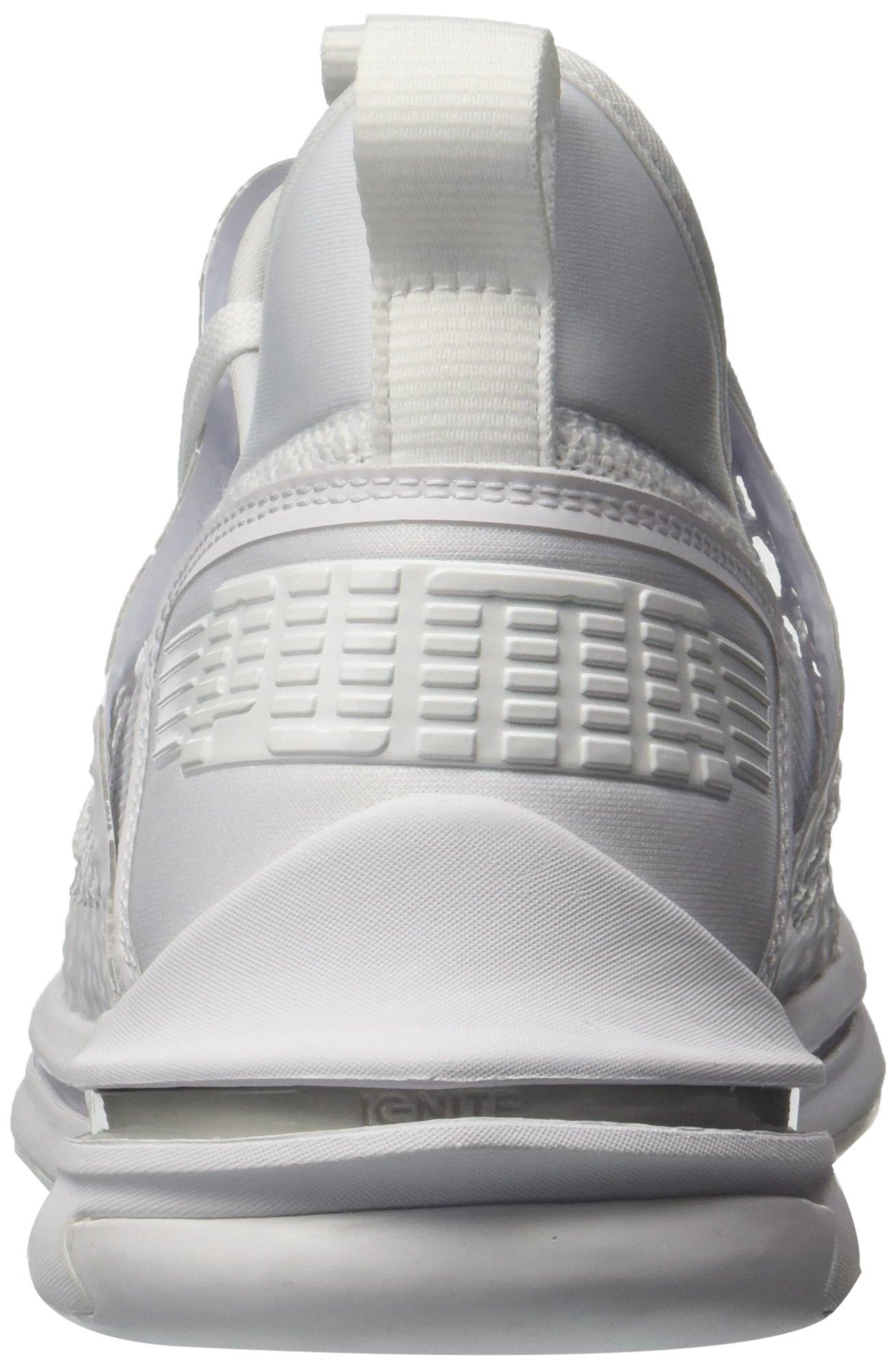 free shipping 2cfe6 5fe34 M US Mens 10 Ignite Sneaker Netfit PUMA SR Limitless White W