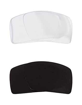 ba90907e88 Eyepatch 1 Replacement Lenses Black   Crystal Clear by SEEK fits OAKLEY