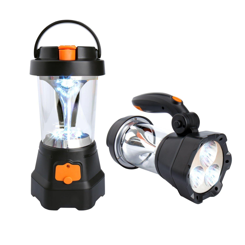 Camping Lampe - Kurbel Handscheinwerfer / Bild: Amazon.de
