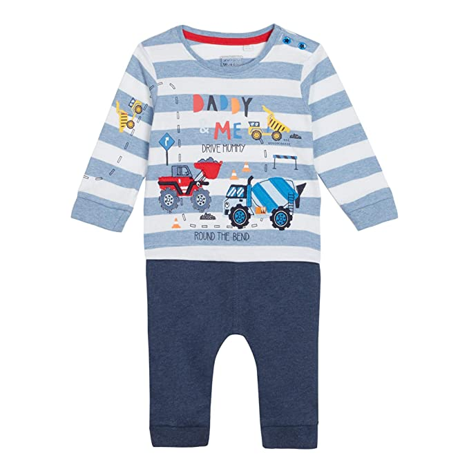 196d9311 bluezoo Baby Boys' Navy 'Daddy & Me' Truck Print Top and Jogging Bottoms