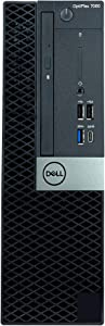 Dell Optiplex 7060 SFF Desktop - 8th Gen Intel Core i7-8700 6-Core Processor up to 4.60 GHz, 16GB DDR4 Memory, 512GB Solid State Drive, Intel UHD Graphics 630, DVD Burner, Win10 Pro (64-bit) (Renewed)