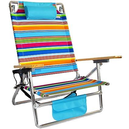 Awesome Titan Layflat Aluminum Folding Beach Chair Interior Design Ideas Pimpapslepicentreinfo