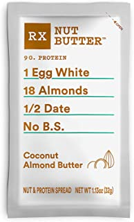 product image for RX Nut Butter, Coconut Almond Butter, 10 Count, Keto Snack, Gluten Free