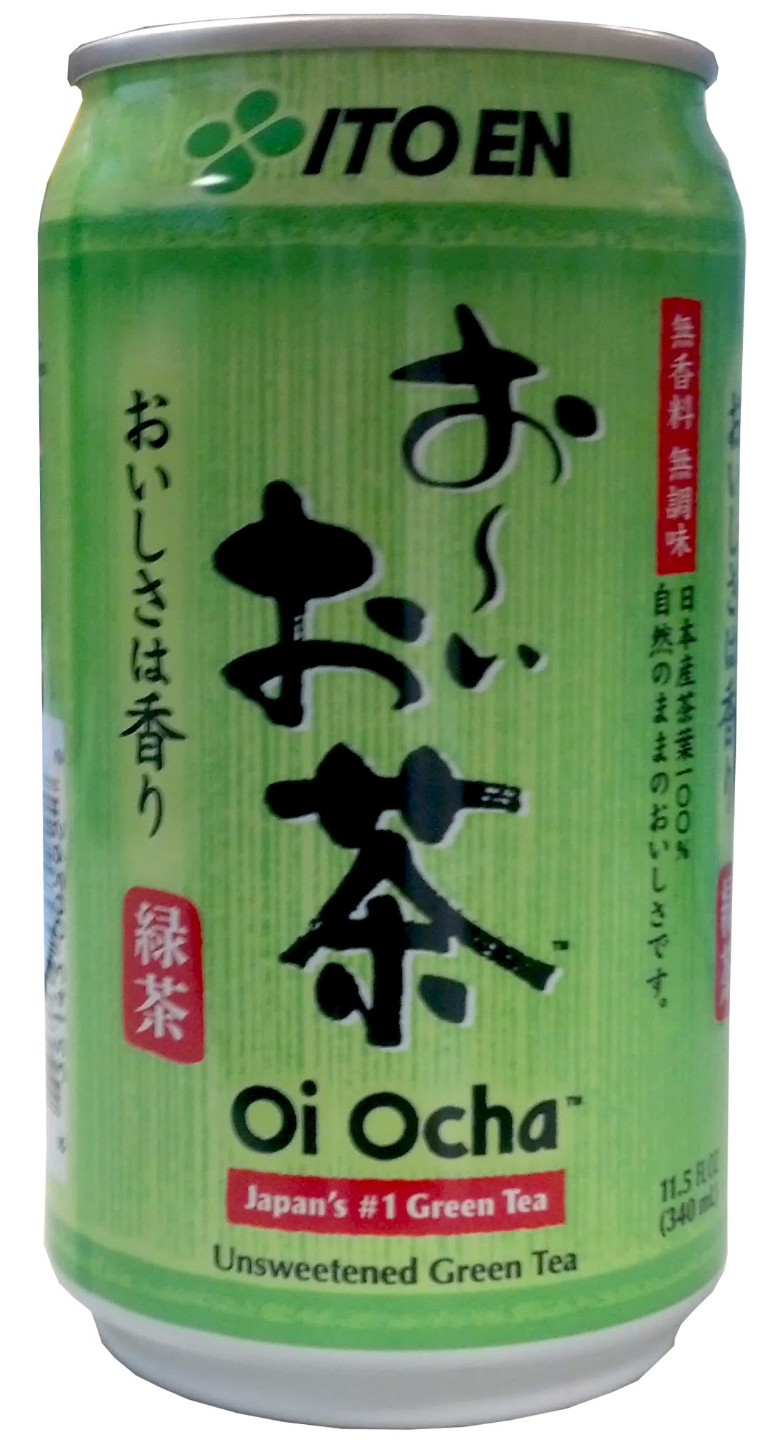Itoen Green Tea, Unsweetened, 11.5-Ounce (Pack of 24)