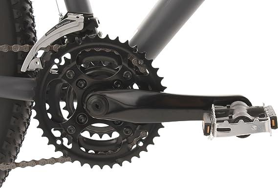 KS Cycling MTB Hardtail GTZ 3850 - Bicicleta de montaña, color antracita, ruedas 27,5