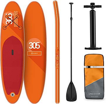 Tabla Paddle Surf Hinchable - SPREESTAR 305x10x77 cm Sup Surf ...