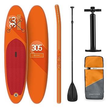 Tabla Paddle Surf Hinchable - SPREESTAR 305x10x77 cm SUP ...