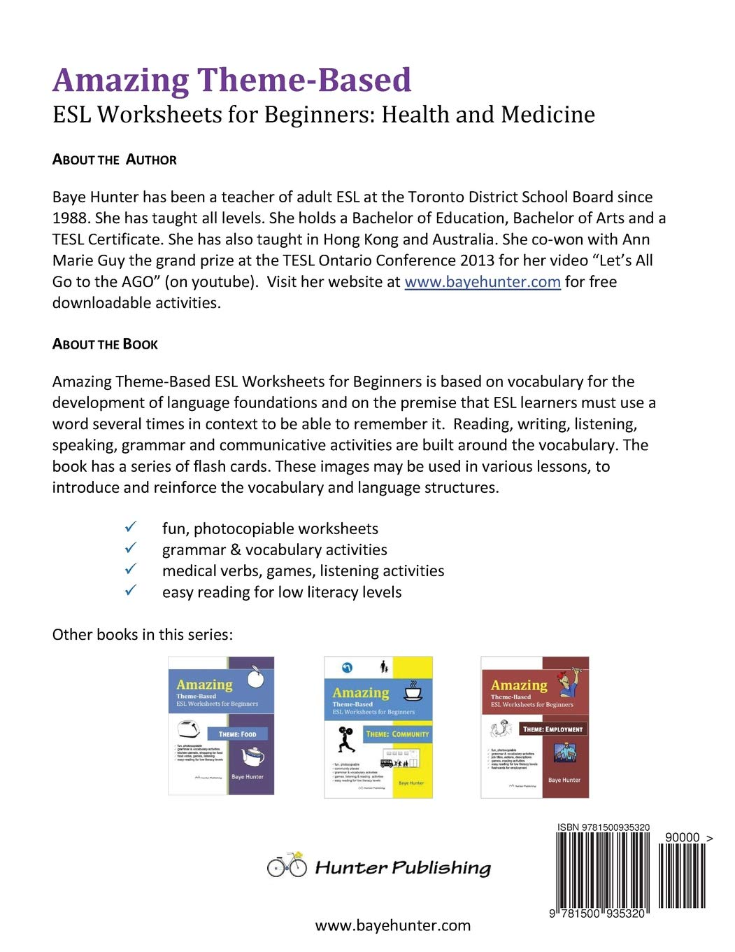 Amazing Theme-based ESL Worksheets for Beginners  Theme: Health and