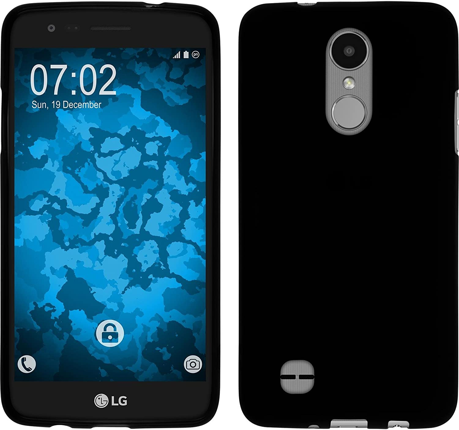 PhoneNatic Funda de Silicona Compatible con LG K4 2017: Amazon.es ...