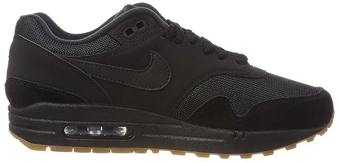 save off b3b96 7d376 Amazon.com   Nike Air Max 1 Mens Trainers AH8145 Sneakers Shoes (UK 6 US 7  EU 40, Black Black Black 007)   Basketball