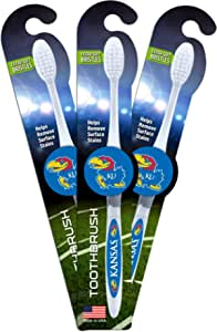 Worthy Promotional NCAA Kansas State Wildcats Toothbrush 2-pack Sturdy Design Soft Bristles