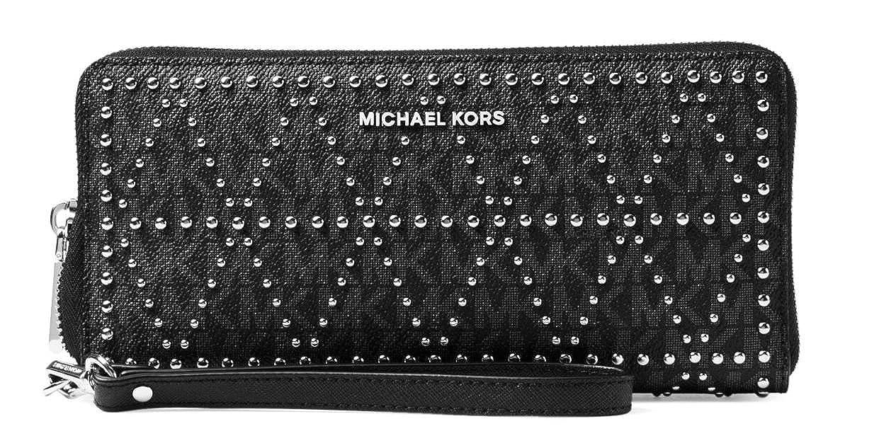 93e7d4e36 Michael Kors Money Pieces Travel Continental Wristlet - Black - 32F7SF6Z9B- 001: Handbags: Amazon.com