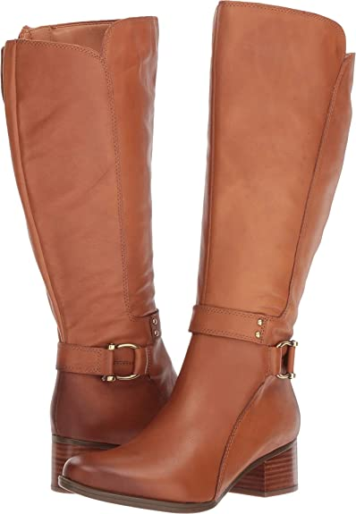 6f5df3fc6a2 Amazon.com | Naturalizer Women's, Dane Tall Boot - Wide Shaft | Shoes
