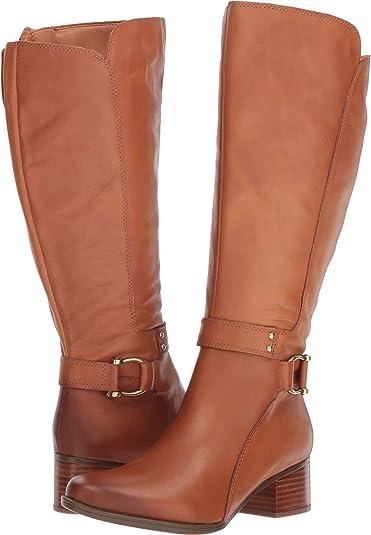 466941af8efa Naturalizer Women s Dane Wide Calf Light Maple Leather 4 ...