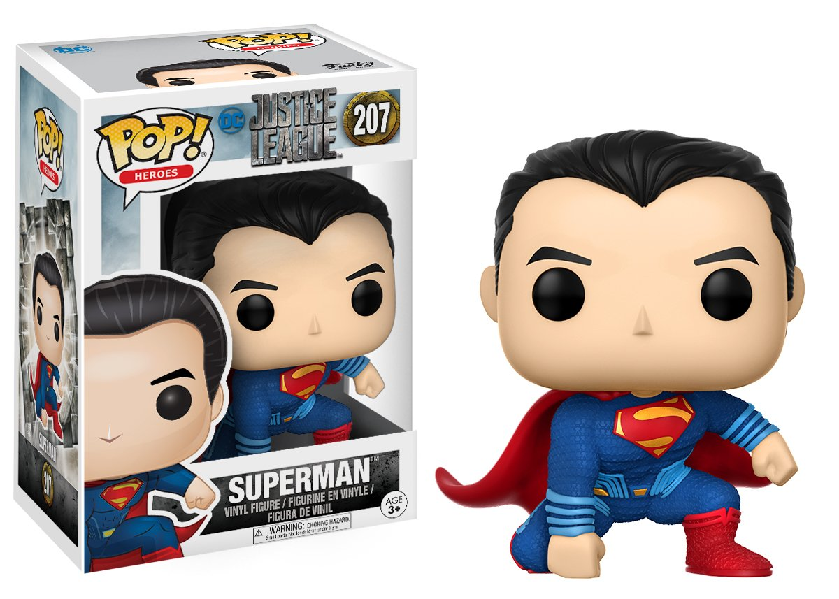 DC Justice League Superman Toy Figure 13704 Accessory Toys /& Games Movies Funko POP