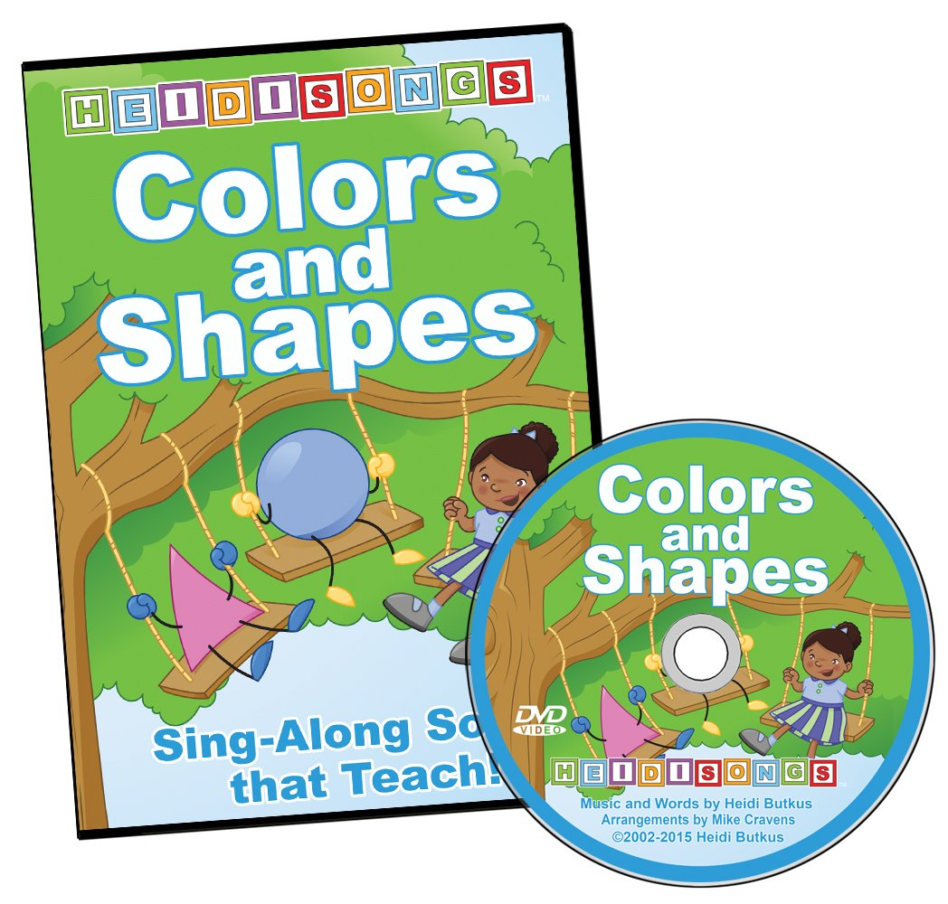 Amazon.com: Colors and Shapes Animated DVD: Heidi Butkus: Movies & TV
