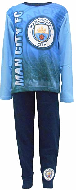"Manchester City Football Club ""Man City FC"" Niños pijamas ..."